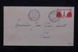 """FRANCE - Enveloppe FDC Nations Unies Le 6 /11 /51 , Oblitération  """" Assemblée Générale Nations Unies """" - L 22759 - FDC"""