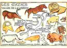 24 - Les Eyzies - Capitale De La Préhistoire - Vallée De La Vézère - Art Préhistorique - Flamme Postale De Lalinde - Voi - France