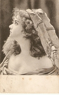 """A Beautiful Girl"" Tuck Art In Maiden Meditation Lost Ser. PC # 1176 - Tuck, Raphael"
