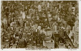 005916  New York - Midtown Manhattan From An Aeroplane - Manhattan