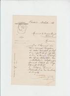 Administration Des Telegraphes - Cachet Telegraphique Bertix - Pour Paliseul - 1912 - Télégraphes