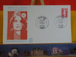 Marianne De Louis Briat - Paris - 30.9.1991 FDC 1er Jour N°1764 - Coté 2,50€ - FDC