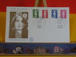 Marianne De Louis Briat - Paris - 30.9.1991 FDC 1er Jour N°1764 - Coté 10€ - FDC