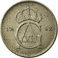 Monnaie, Suède, Gustaf VI, 10 Öre, 1962, TTB, Argent, KM:823 - Suède