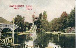 005918  Gent - Wasserfall. Weltausstellung 1913 - Gent