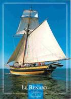 Bateaux - Voiliers - Bretagne - Le Renard - Réplique (1991) Du Bateau Corsaire Armé à La Course En 1812 Par Le Célèbre R - Voiliers