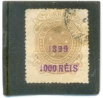 1899 BRESIL Y & T N° 110 ( O ) Timbre Surchargé - Brasil