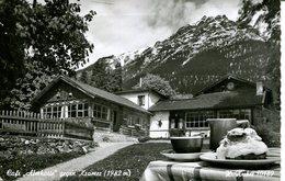 """005919  Garmisch-Partenkirchen - Café """"Almhütte"""" Gegen Kramer  1959 - Garmisch-Partenkirchen"""