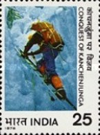 USED STAMPS India - Conquest Of Kanchenjunga (1977)-  1978 - India