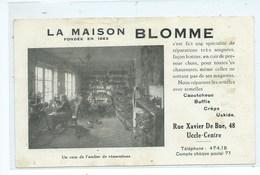 Uccle La Maison Blomme ( Etat Voir Les Scans ) - Uccle - Ukkel