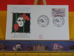 Amnesty International - Paris - 19.10.1991 FDC 1er Jour N°1769 - Coté 3€ - FDC