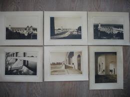 6 PHOTOS DU BARRAGE HYDRO ELECTRIQUE DE JONS (dept 38) Construit De 1934 à 1937 - Reproductions