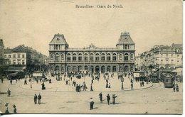 005920  Bruxelles - Gare Du Nord - Schienenverkehr - Bahnhöfe