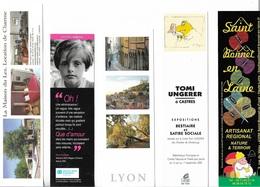 Marque-Pages - Lot De 5 Marque- Pages Différents - Voir Scan - - Marque-Pages