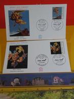 Max Ernst - 92 Sceaux-Bonn1 - 10.10.1991 FDC 1er Jour N°1766/67 - Coté 6€ Lot 2 FDC - FDC