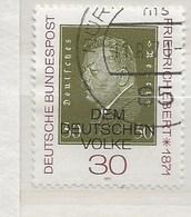 1971-Friedrich Ebert - Oblitérés