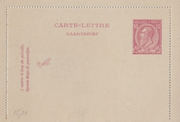 Biglietto Postale Belga Integro - Entiers Postaux
