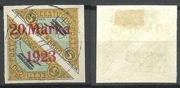 Estonia 1923 Michel 44 B A O - Estland