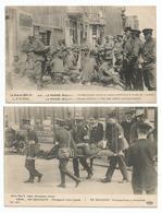 BELG. LEGER - ARM. BELGE -1914/18 - 2 KAARTEN - Guerra 1914-18