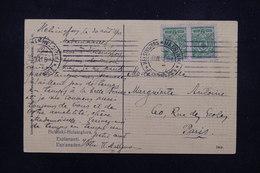 FINLANDE - Affranchissement De Helsinki Sur Carte Postale En 1911 ( Administration Russe ) Pour Paris - L 22773 - 1856-1917 Administration Russe