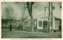 CAZAUX  =  Le Bourg Les écoles ...  446 - France