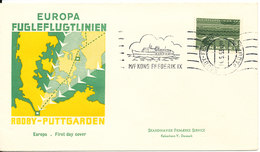 Denmark Cover Bee-Line Paquebot Rödby - Fehmern 14-5-1963 M/F King Frederik IX With Cachet - Denmark