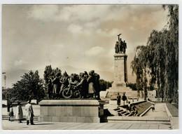 SOFIA   LE  MONUMENT  A L' ARMEE  SOVIETIQUE    (VIAGGIATA) - Bulgaria