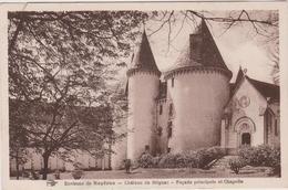 87  Environs De Royeres  Chateau De Brignac  Facade Principale Et Chapelle - France