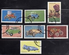 INDIA INDE NAGALAND 1972 CARS SET SERIE AUTOMIBILI USATA USED OBLITERE' - India
