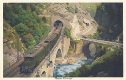 MONTE PIOTTINO - N° 2754 - TRAIN - TI Tessin