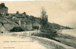 GAURIAC  Marmisson :  Habitations Dans Les Rochers...  449 - France