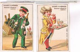 Chromos   CHOCOLAT  INIMITABLE CHICOREE A LA MENAGERE ...CH102 - Chocolat