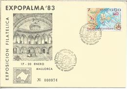 PALMA MALLORCA 1983 MAT CASTILLO BELLVER CASTLE - Castles