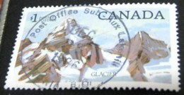 Canada 1984 Glacier National Park $1 - Used - 1952-.... Reign Of Elizabeth II
