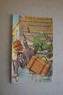 51 - De REIMS Je Pense à Toi Et T'envoie Une Valise De Souvenirs - Ouvre Et Tu Verras - Carte Avec Dépliant - Reims