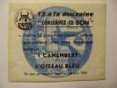 T043 / Publicité SAFR 1962 L'OISEAU BLEU DE MONCHELET SOMME 80 - Facturen