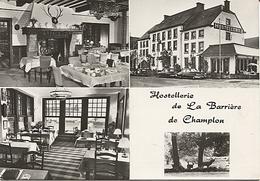 X120792 BARRIERE DE CHAMPLON HOSTELLERIE MULTIVUES MULTI VUES - Belgique