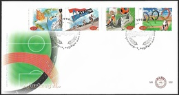 1996 - NEDERLAND - FDC + SG 1803/1806 [Sport] + 'S GRAVENHAGE - FDC