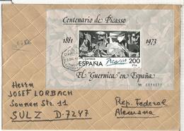 BARCELONA CC CERTIFICADA HOJITA GUERNICA PICASSO ARTE - Picasso