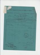 Carrieres De Quenast - Bracquegnies Gare Charbonnage De Maurage  - Cachet Telegraphique QUENAST - 1891 - Telegraph