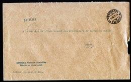 A5858) Schweiz Dienstbrief POW Internierte Kriegsgefangene Neuchatel 27.03.17 - Briefe U. Dokumente