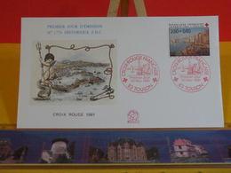 Croix Rouge Française - 83 Toulon - 30.11.1991 FDC 1er Jour N°1776 - Coté 3€ - FDC