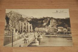 7862-   DINANT, La Citadelle, L'eglise Et Le Pont - Dinant