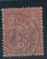 N°81 NUANCE ET OBLITERATION. - 1876-1898 Sage (Type II)