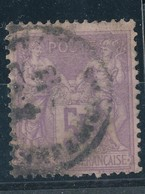 N°95 NUANCE ET OBLITERATION. - 1876-1898 Sage (Type II)