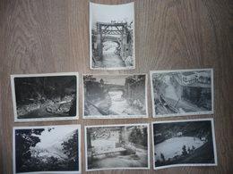 10 PHOTOS De L'USINE HYDROELECTRIQUEde BREIL (dépt 06) Construit De 1924 à 1927 - Albums & Collections