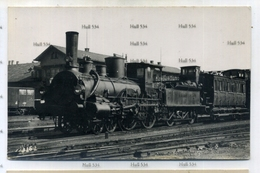 Switzerland Argovia Aargau  Railway Locomotive  Baden Hall On Back  C.1910-20 Postcard By Locomotive Publishing Company - AG Argovia