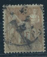 N°105 NUANCE ET OBLITERATION. - 1876-1898 Sage (Type II)
