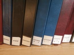 Collection Mondiale En 7 Albums : 1timbre,1 BF,1 PA,1 Doc. Par Pays Et Par Changement De Régime. - Timbres