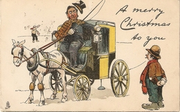 """""""T.E.Donnison. A Merry Christmas R To You"""" Tuck Humorous  Christmas  Series PC # 1795 - Tuck, Raphael"""